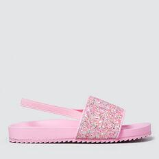 Glitter Slider  PINK  hi-res