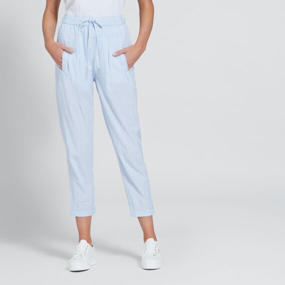 Basic Stripe Pant  CHAMBRAY STRIPE  hi-res