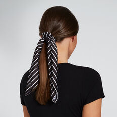Scarf Scrunchie  STRIPE  hi-res