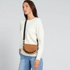 Half Moon Belt Bag  TAN/SNAKE/BLACK  hi-res