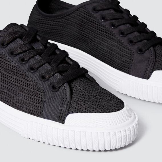 Sophie Mesh Sneaker  BLACK  hi-res