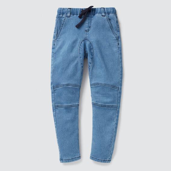 Knee Panel Denim Terry  VINTAGE BLUE  hi-res