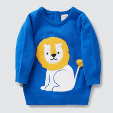 Lion Crew Knit  BRIGHT COBALT  hi-res