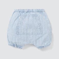 Stripe Chambray Pocket Short  CHAMBRAY  hi-res