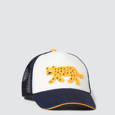 Leopard Cap  MIDNIGHT BLUE  hi-res