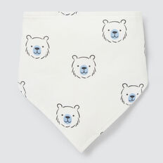 Bear Yardage Bandana Bib  CANVAS  hi-res