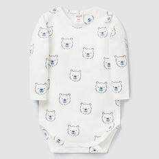 Bear Yardage Bodysuit  CANVAS  hi-res