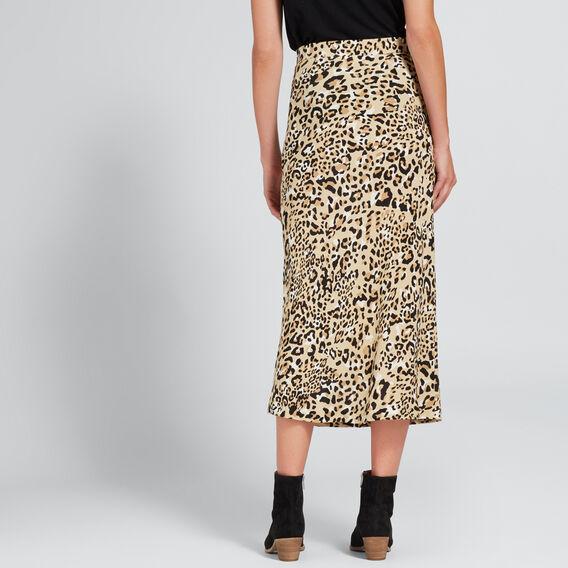 Animal Print Skirt  ANIMAL PRINT  hi-res