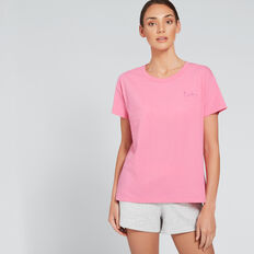 LA Short Sleeve Tee  FUSCHIA  hi-res