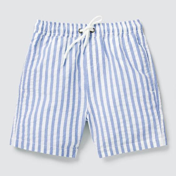 Seersucker Stripe Short  BRIGHT COBALT  hi-res