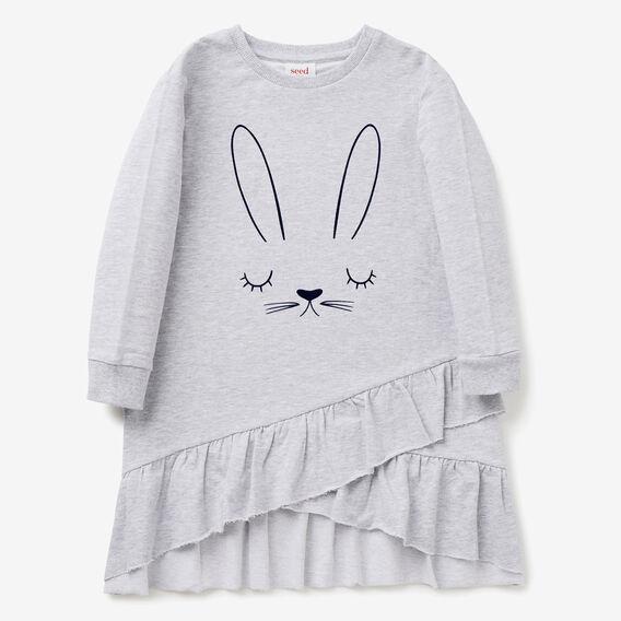 Bunny Sweater Dress  CLOUD  hi-res