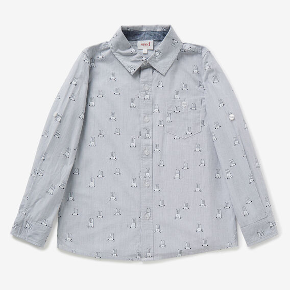 Bunny Yardage Shirt  VINTAGE WHITE  hi-res