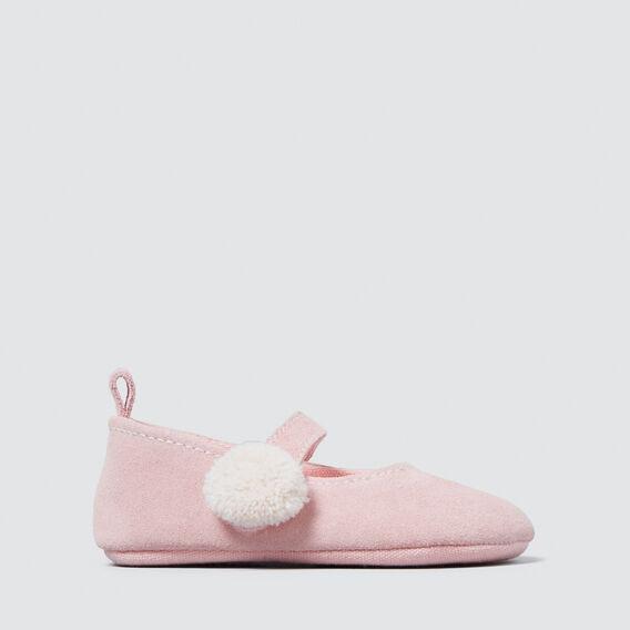 Pink Suede Mary Janes  PINK  hi-res