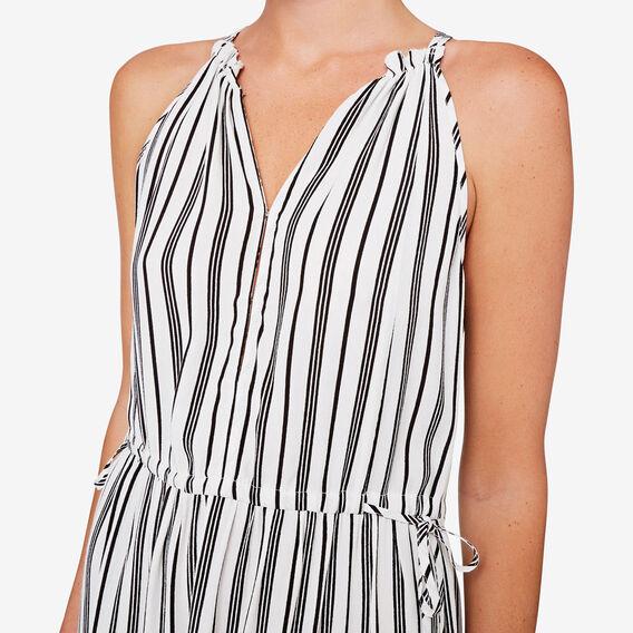 Stripe Maxi Dress  BLACK/CLOUD CREAM  hi-res