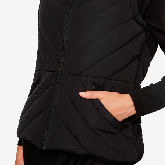 Stitch Vest  BLACK  hi-res