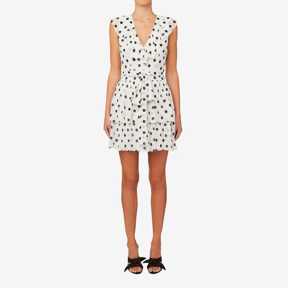 Frilly Spot Dress  SPOT  hi-res