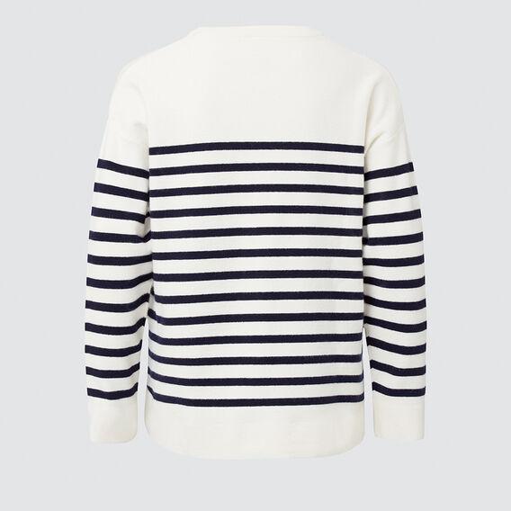 Breton Knit  MIDNIGHT/CR  hi-res