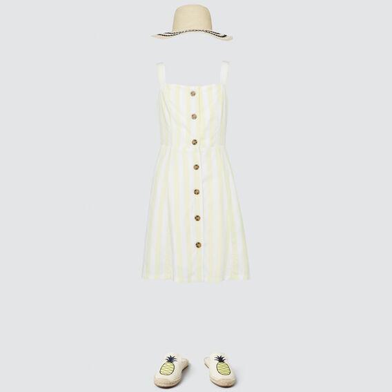 Stripe Day Dress  LIMONATA  hi-res