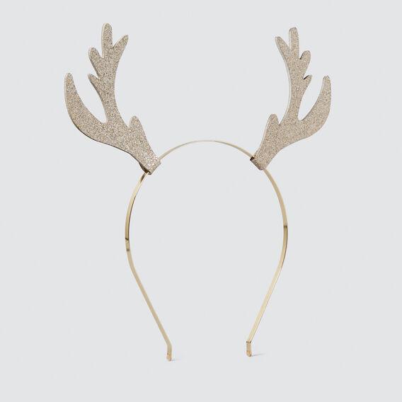 Gold Reindeer Ears Headband  GOLD  hi-res
