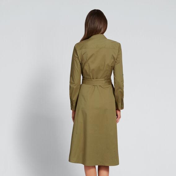 Shirt Dress  OLIVINE  hi-res