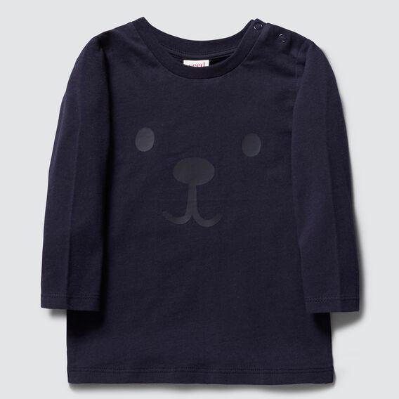 Bear Long Sleeve Tee  MIDNIGHT BLUE  hi-res