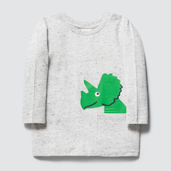 Dino Pocket Tee  CLOUDY MARLE  hi-res
