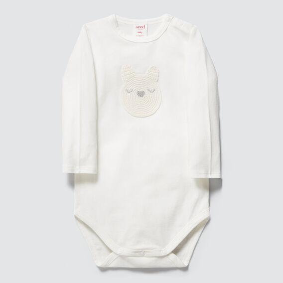 Crochet Bunny Bodysuit  CANVAS  hi-res