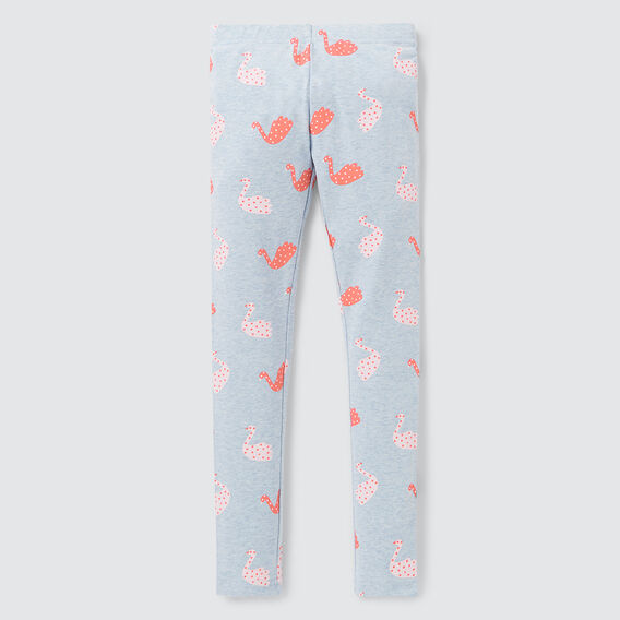 Swan Yardage Legging  BABY BLUE  hi-res