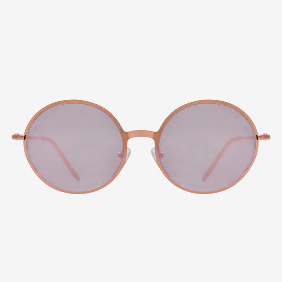 Tahlia Round Sunglasses  ROSE GOLD  hi-res