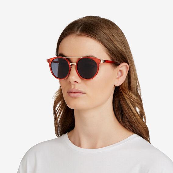 Fleur Topbar Sunglasses  ROYAL RED  hi-res