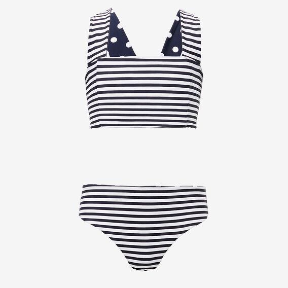 Reversible Bikini  MIDNIGHT/WHITE  hi-res