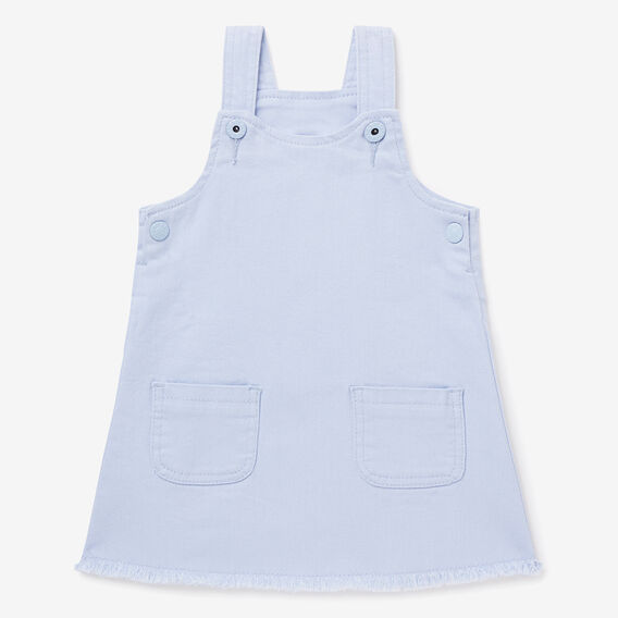 Denim Pinafore Dress  BLUEBELL  hi-res