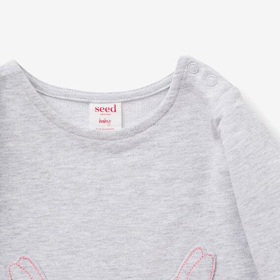 Bunny Pocket Dress  CLOUD  hi-res