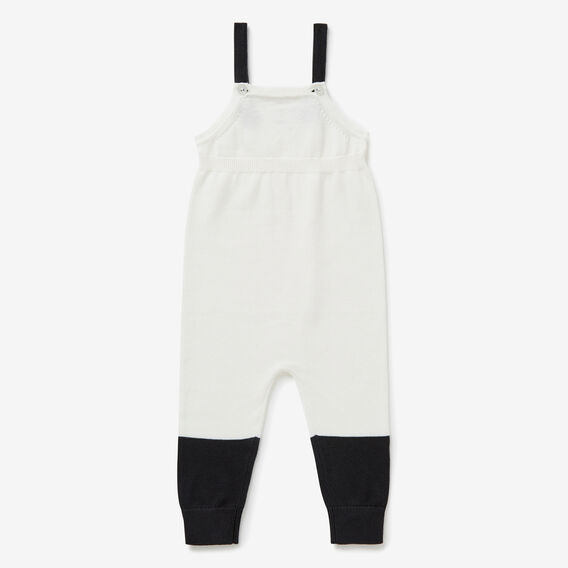 Knit Spliced Overalls  NB CANVAS  hi-res