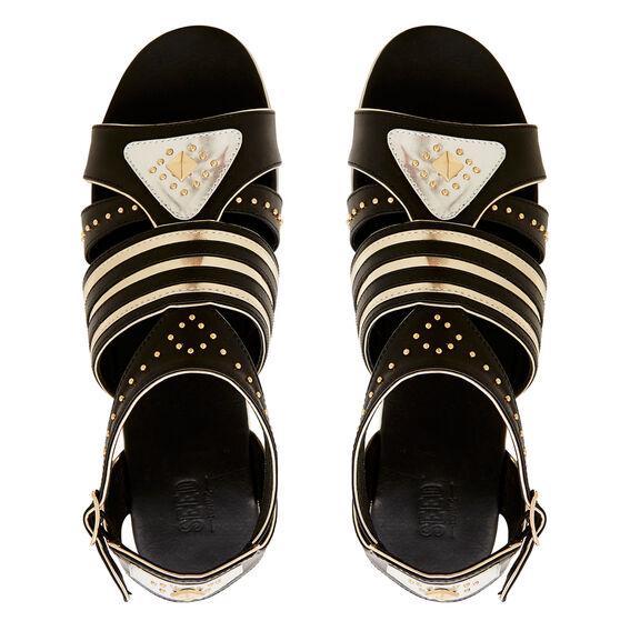 Gladiator Sandal  BLACK  hi-res