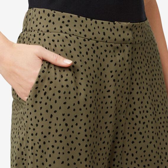 Printed Drape Pant  MILITARY OLIVE  hi-res