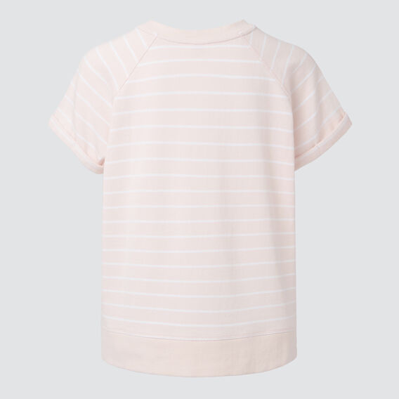 Stripe Sweater  PEACH BLOSSOM STRIPE  hi-res