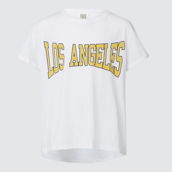 LA Tee  WHITE  hi-res