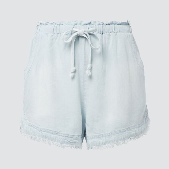 Tencel Short  SKY BLUE WASH  hi-res