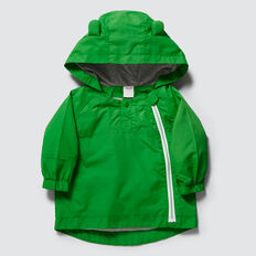 Novelty Raincoat  RETRO GREEN  hi-res