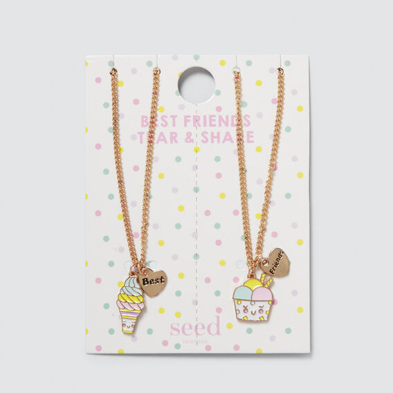 Tear N Share Necklace Set  MULTI  hi-res