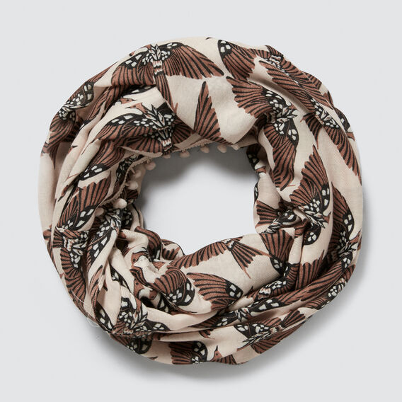 Abstract Bird Snood  PEONY MULTI  hi-res