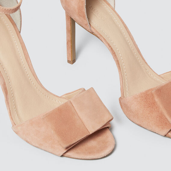 Hattie Bow Heel  ROSE TAN  hi-res