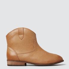 Western Boot  TAN  hi-res