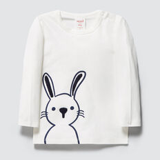 Bunny Print Tee  CANVAS  hi-res