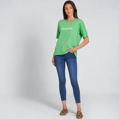 L'Amour Tee  WASHED GREEN  hi-res