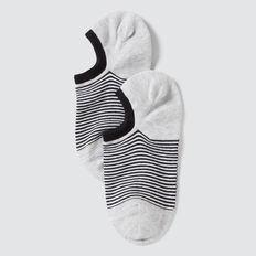 Sneaker Sock  BLACK/GREY STRIPE  hi-res