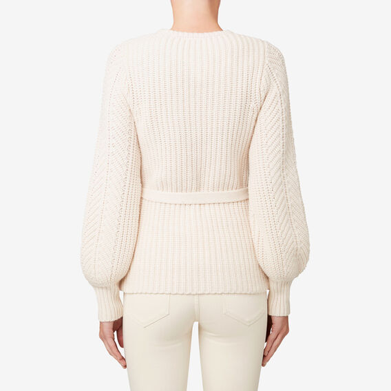 Fancy Stitch Sweater  SHELL CREAM  hi-res