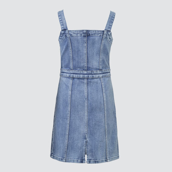 Denim Dress  PALE BLUE WASH  hi-res