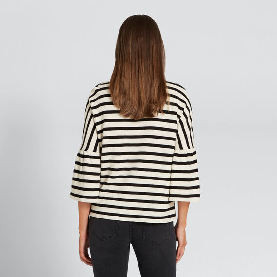 Stripey Tee  BLACK/WINTER OAK  hi-res